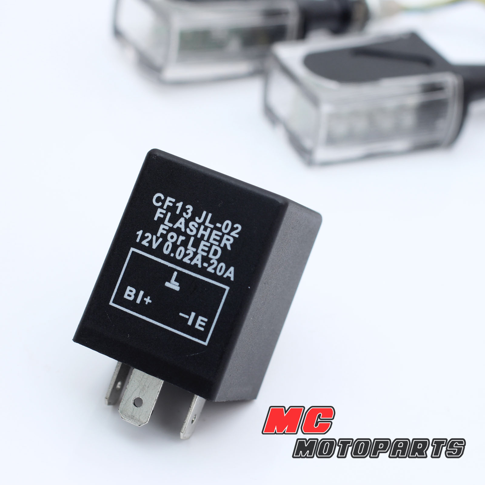 3 Pin Flasher Relay For Led Turn Signals Fix Fast Flash