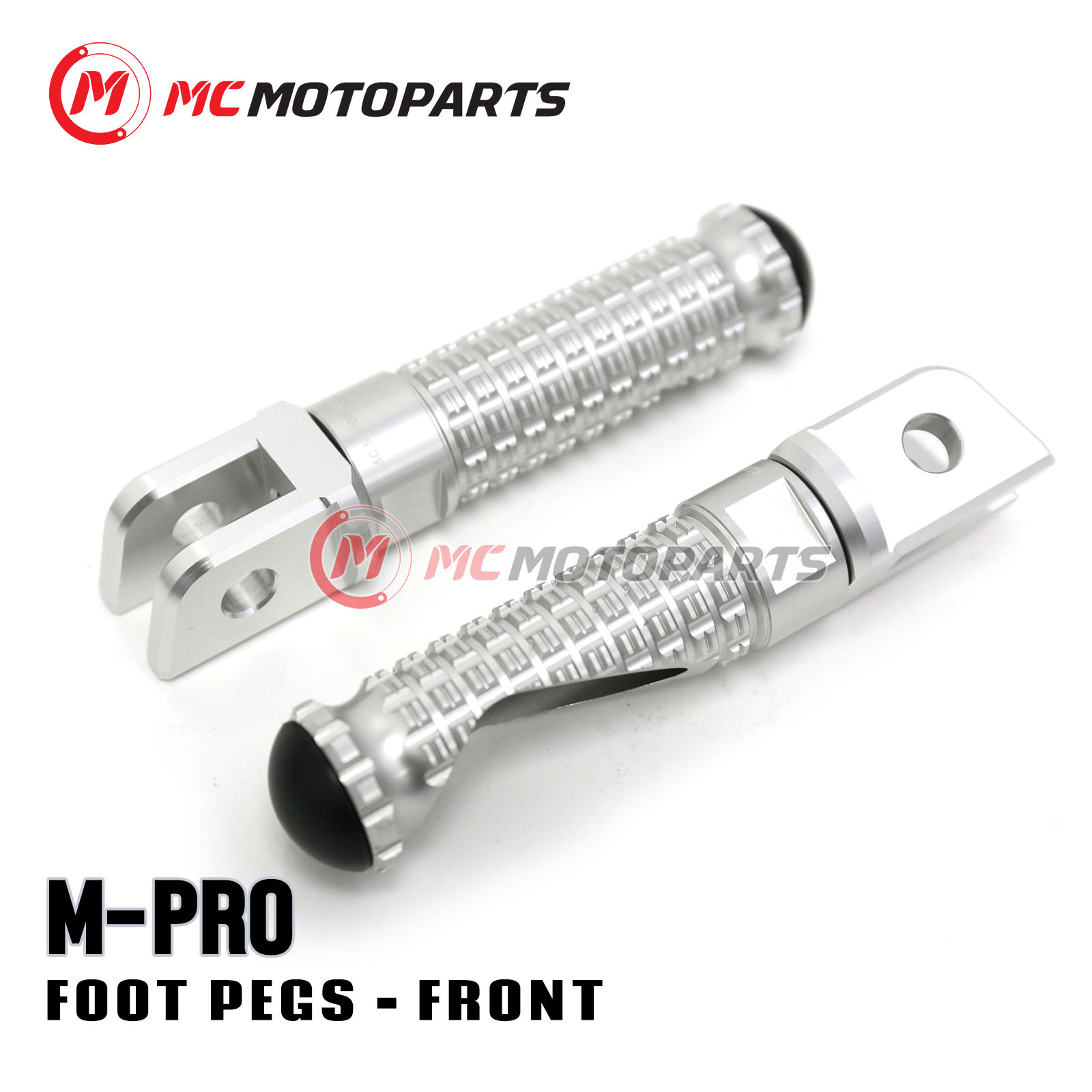 Gold Billet Front Rider Foot Pegs For Triumph Tiger 99 00 01