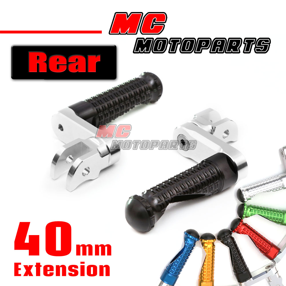Front MPRO Adjustable Foot Pegs For Triumph Speed Triple 1050 //R 05-14