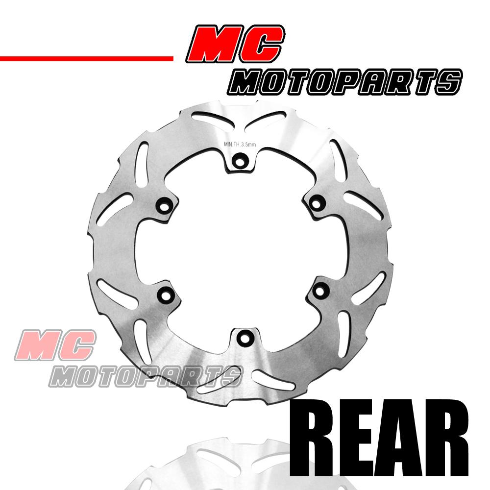 Solid Rear Brake Disc Rotor For Suzuki GSX600 F 98-06 99 00 01 02 03 04 05 06