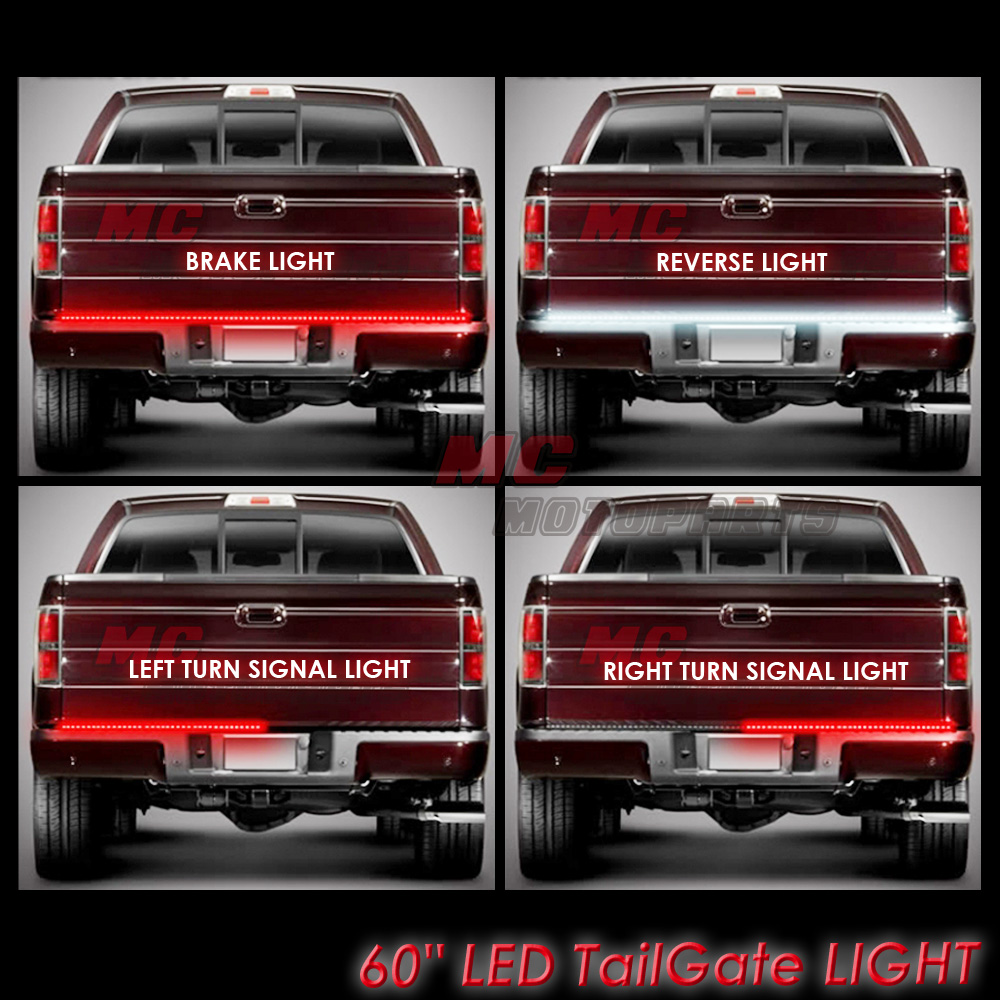 For 2009 2014 2010 2011 ford f150 60 led tailgate light bar 1pc for 2009 2014 2010 2011 ford f150 60 led tailgate light bar 1pc mozeypictures Images
