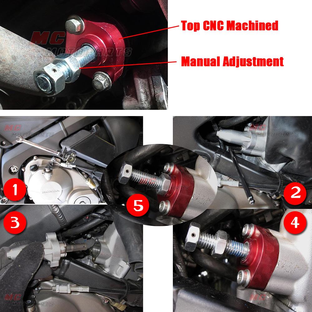 CNC-Red-Manual-Cam-Chain-Tensioner-Fit-Suzuki-