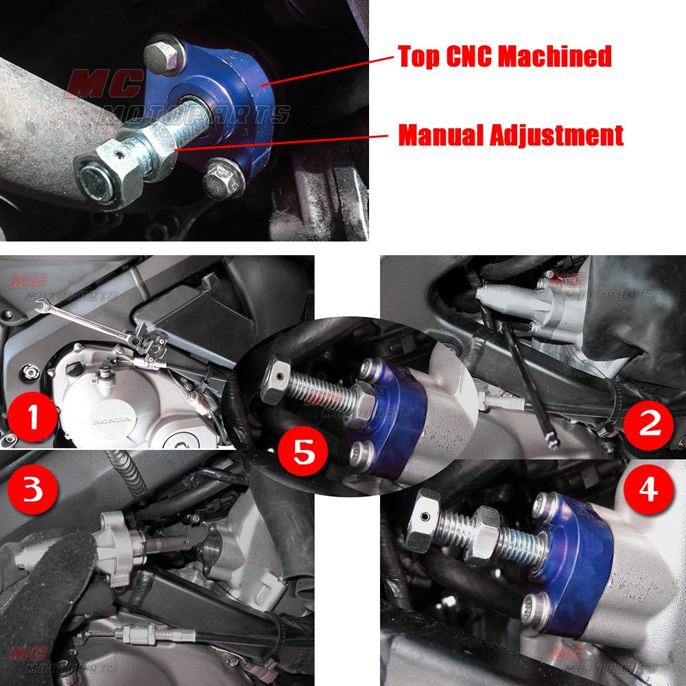 CNC-Blue-Manual-Cam-Chain-Tensioner-Fit-Honda-