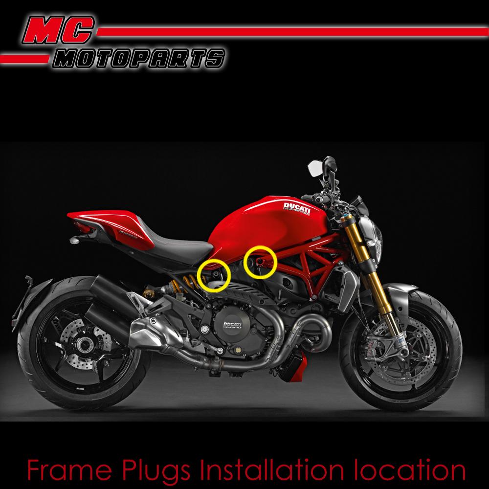 Ducati Frame Sliders Monster