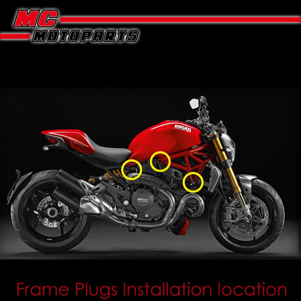Ducati  Spools Sliders