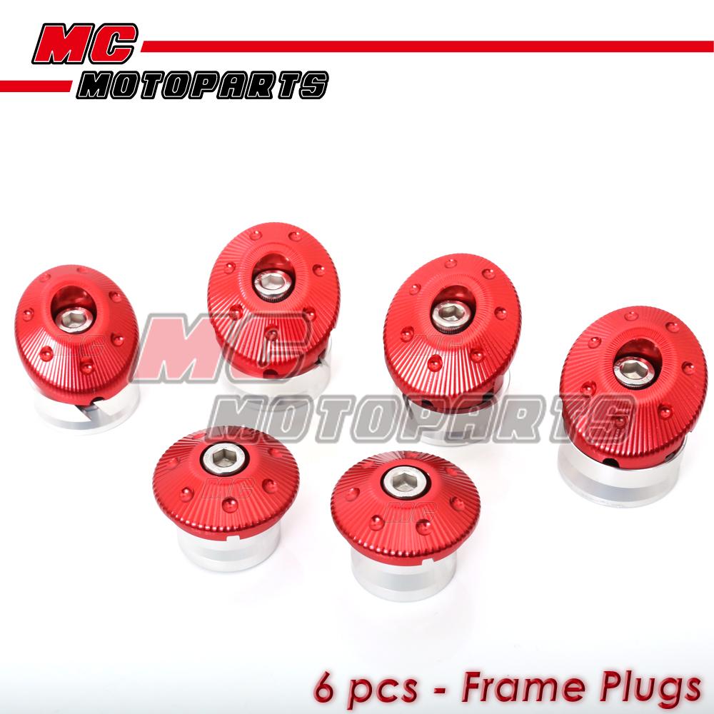 Ducati Frame Plugs