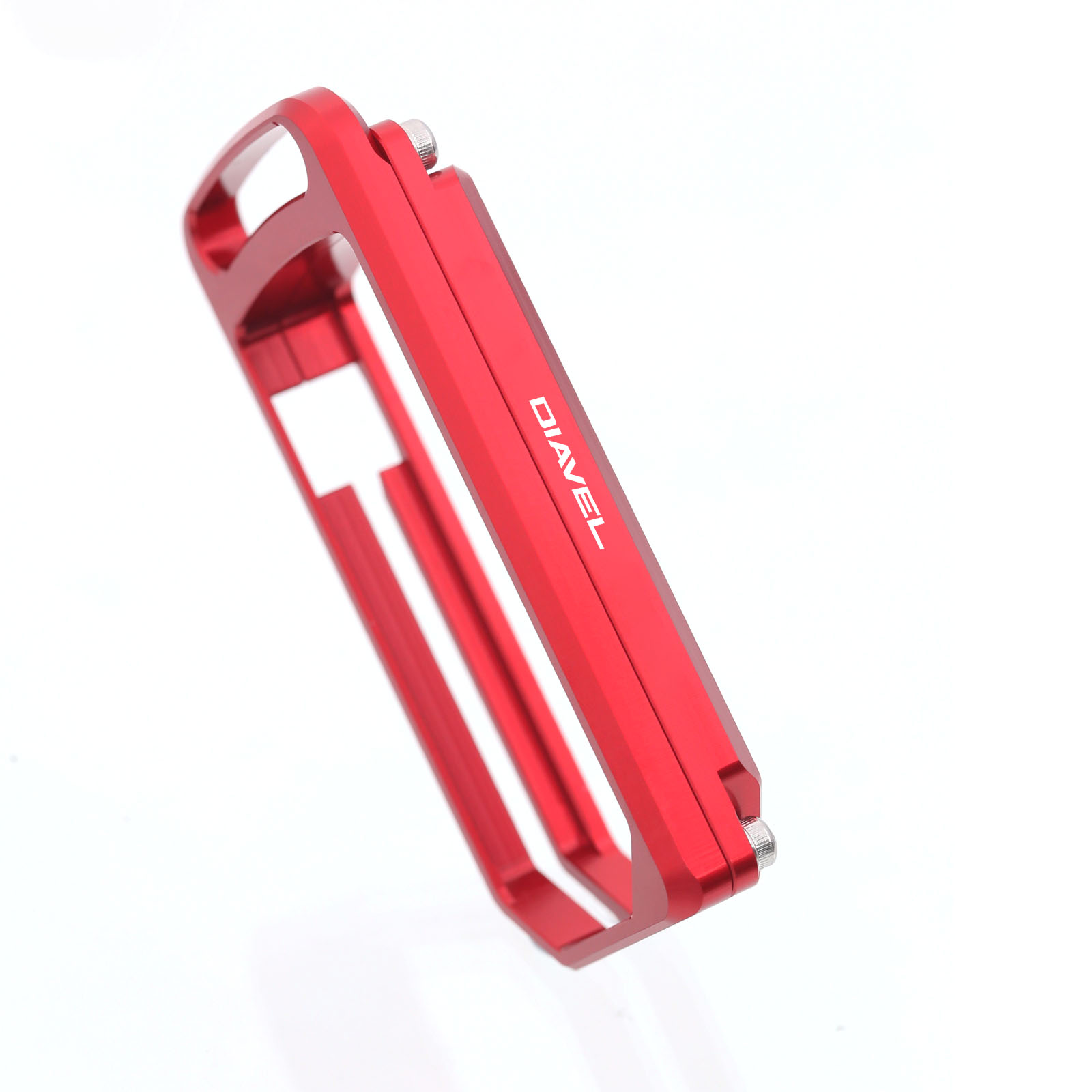 Ducati DIAVEL Black Gold Red Motorcycle Key Case Holder